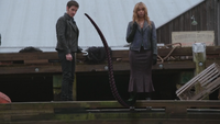 4x15 Killian Jones Capitaine Crochet tentacule Ursula quai Storybrooke