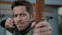 6x12 Robin de Locksley Uchronie flèche arc visée