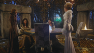 3x20 Zelena Méchante Sorcière de l'Ouest Gentille Sorcières du Nord l'Est Sud d'Oz Glinda livre prophétie