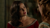 5x03 Regina Mills Zelena (Storybrooke) tour Merlin menaces bébé bonheur seconde chance