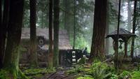 1x17 carosse Méchante Reine gardes noirs maison Jefferson