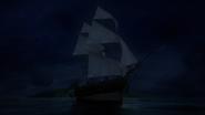 3x09 Jolly Roger bateau navire vaisseau mer océan île Pays Imaginaire