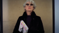 Le Diable s'Habille en Prada 2006 Miranda Priestly apparition ascenseur mini