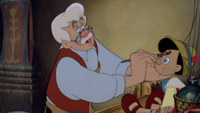 Pinocchio (1940) Gepetto