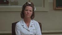 Vol au-dessus d'un Nid de Coucou Infirmière Miss Mildred Ratched deuxième seconde réunion écoute