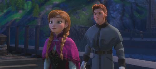 La Reine des Neiges (Disney) Anna Prince Hans Westergard des Îles du Sud été grand dégel