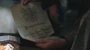 2x14 lettre convocation embrigadement engagement intégration armée front Guerre des Ogres Rumplestiltskin Sir William Duvrant