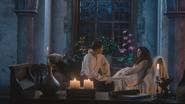 3x10 Prince David Charmant Blanche-Neige discussion nuit palais d'été bougies