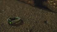 3x21 bague anneau alliance bijou de Ruth pierre précieuse verte peridot