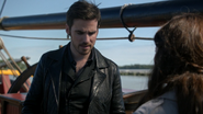 6x02 Killian Jones Belle French Jolly Roger excuses tortures