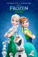 La Reine des Neiges - Une Fête Givrée Disney Frozen Fever Elsa Anna affiche teaser
