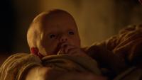 6x19 Rumplestiltskin bébé enfant naissance