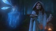 2x15 Fée Bleue Cora double-bougie magique cadeau jeune Blanche-Neige enfant lanterne