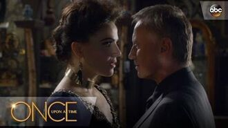 The Evil Queen and Rumple Get Cozy - Once Upon A Time
