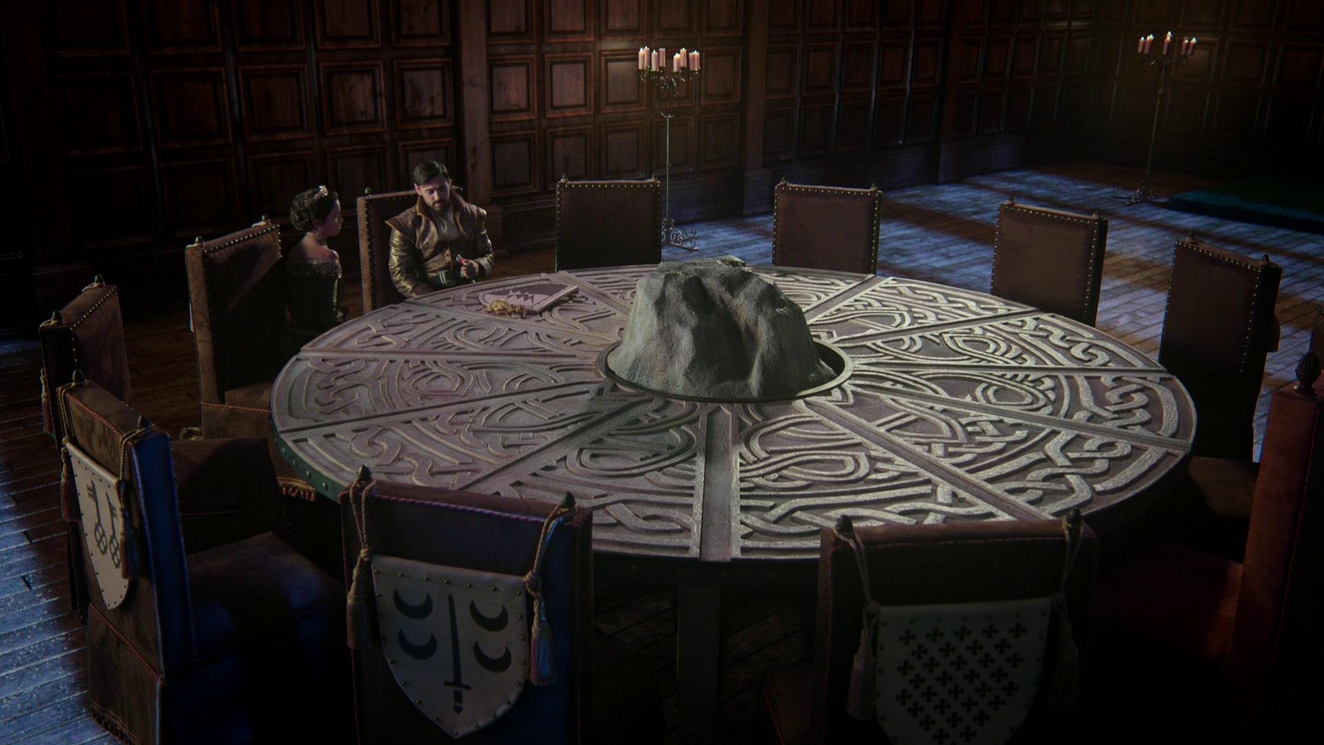 было картинки с круглым столом короля артура болтами крепится фундаменту