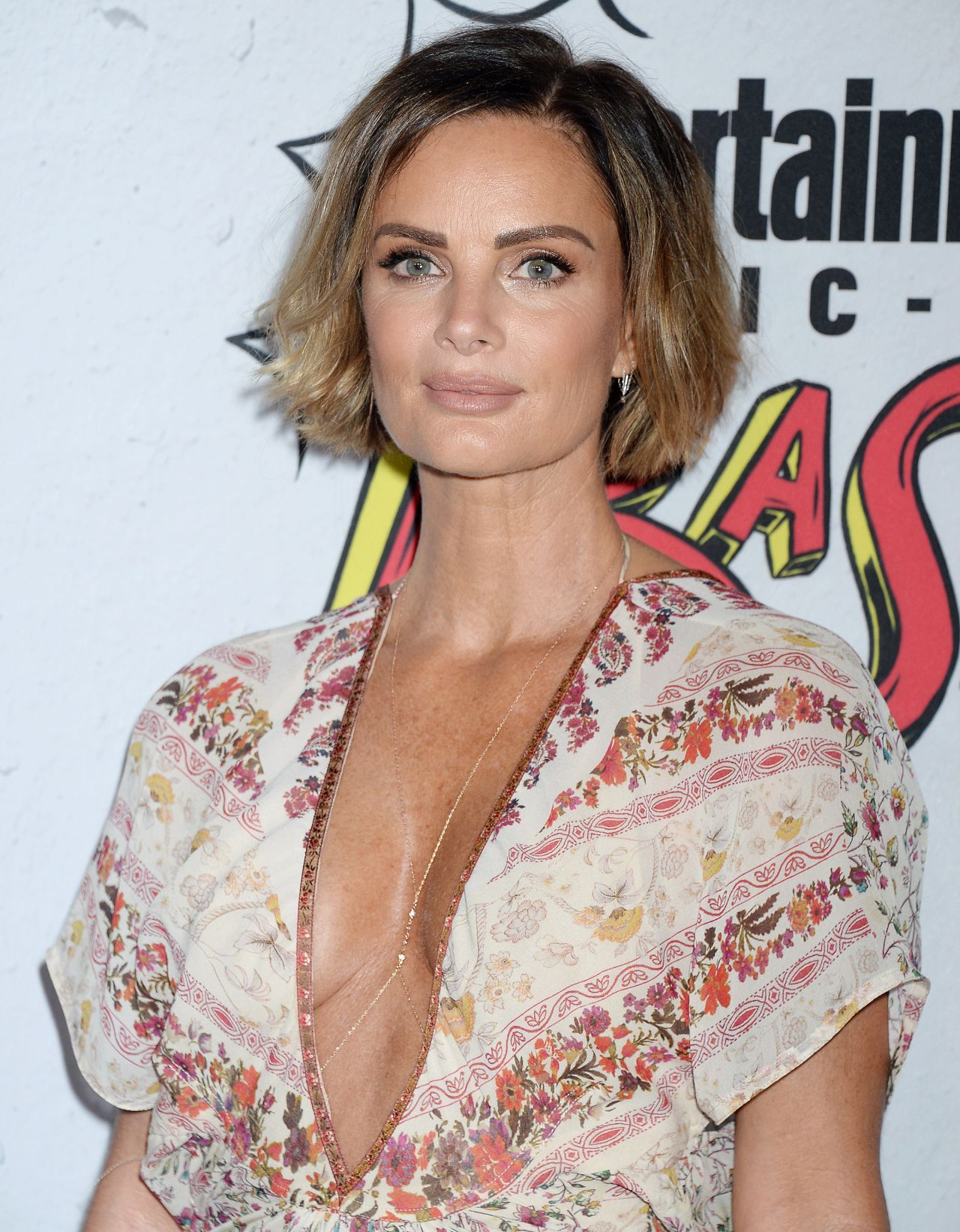Cleavage Pics Gabrielle Anwar naked photo 2017