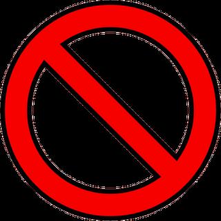 No Sign Png