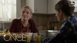 Hook, Emma and Henry's Family Breakfast - Once Upon A Time