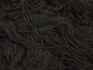 Black Wool Macro Texture Closeup 1