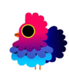 Pássaro Colorido