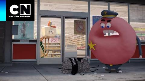 Quando canta... ♬ O Incrível Mundo de Gumball Cartoon Network
