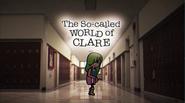 O Suposto Mundo de Clare