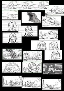 A Rex Storyboards