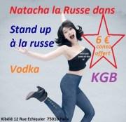 Natacha La Russe Stand up à la russe
