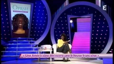 Une Américaine découvre une friteuse française