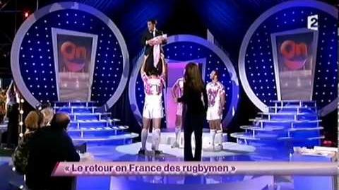 Florent Peyre - 43 Le retour en France des rugbymen - ONDAR
