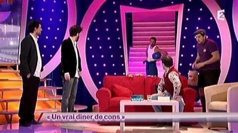 Artus, Florent Peyre, Arnaud Cosson et Paco 56 - Un vrai dïner de cons - ONDAR - 01 février 2013