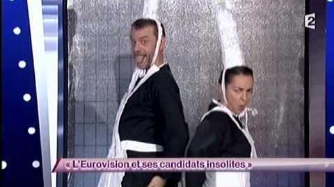 Kicékafessa - 40 L'Eurovision et ses candidats insolites - ONDAR