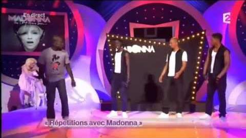 Waly Dia (prime 3) - Répétitions avec Madonna