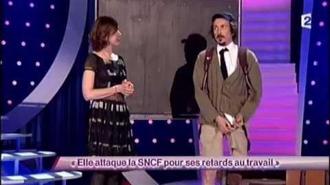 Elle attaque la SNCF pour ses retards au travail