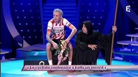 Le cycliste centenaire a battu un record