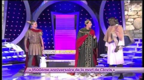 Les Lascars Gays - 56ème passage - 1500ème anniversaire de la mort de Clovis