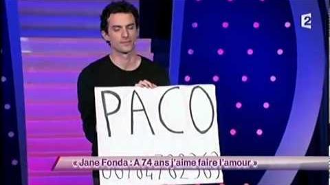 Paco (3) - Jane Fonda à 74 ans j'aime faire l'amour