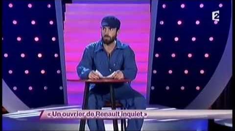 Aymeric Lompret 31 Un ouvrier de Renault inquiet - ONDAR
