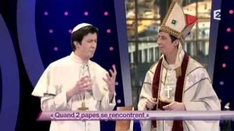 Quand 2 papes se rencontrent