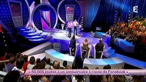 50 000 invités à un anniversaire à cause de Facebook