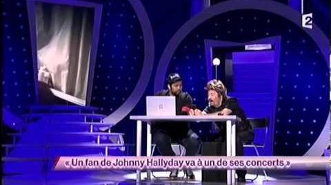 On ne demande qu'a en rire Sacha Judaszko 40 Un fan de Johnny Hallyday va à un de ses concerts ONDAR
