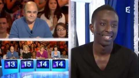 Ahmed Sylla 22 - Un sportif qui tourne une publicité - ONDAR