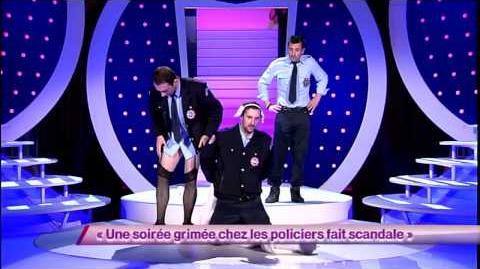 Les Décaféinés 42 Une soirée grimée chez les policiers fait scandale ONDAR
