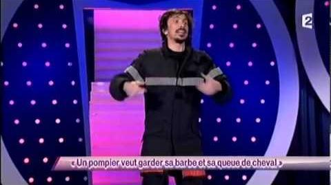Arnaud Tsamere - 49 Un pompier veut garder sa barbe et sa queue de cheval - ONDAR