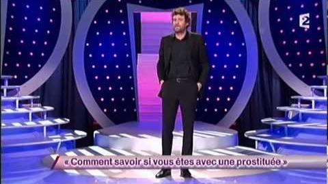On ne demande qu'a en rire Olivier De Benoist 66 Comment savoir si vous êtes avec une prostituée ONDAR