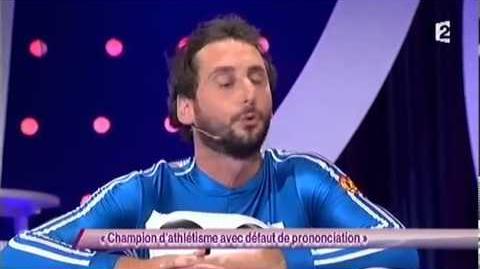 Arnaud Cosson - 14 Champion d'athlétisme avec défaut de prononciation - ONDAR