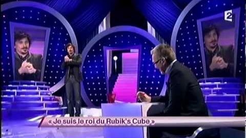 Je suis le roi du Rubik's Cube