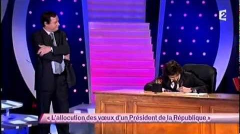 Arnaud Tsamère 48 L'allocution des voeux d'un Président de la République