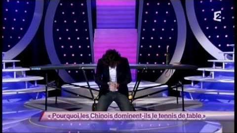 Arnaud Tsamere 75 Pourquoi les chinois dominent-ils le tennis de table - ONDAR
