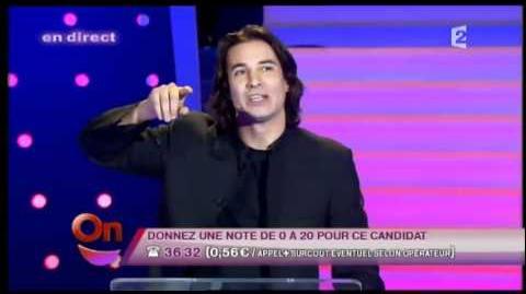 Jérémy Ferrari Ruquier - un candidat de télé réalité rentre chez lui